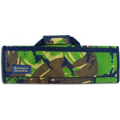 8 Pocket Camouflage Padded Knife Roll