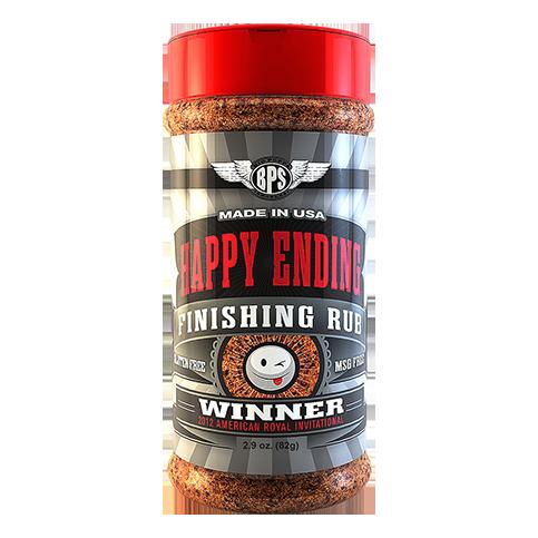 Happy Ending BBQ Finishing Rub - 2.9oz
