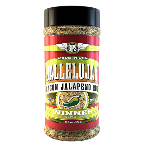 Jallelujah Bacon Jalepeno Rub - 13.3oz