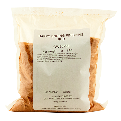 Happy Ending BBQ Finishing Rub - 2lb Bag