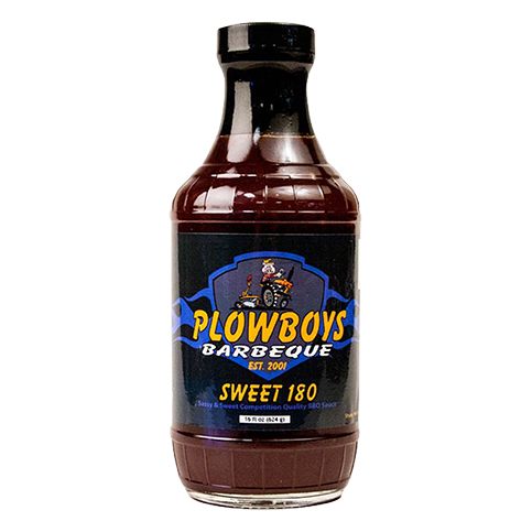 Plowboys Sweet 180 BBQ Sauce - 16oz