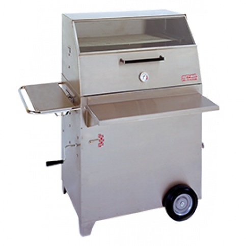 Hasty Bake Gourmet Stainless Steel Charcoal Grill Model 257