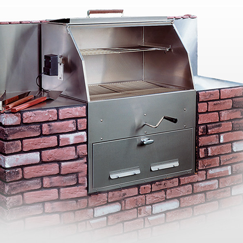 Hasty Bake Fiesta Built In 270 Charcoal Grill