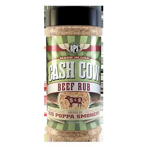 Cash Cow Beef Rub - 13oz