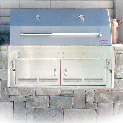 Hasty-Bake Hastings Built In 290 Stainless Steel Charcoal Grill