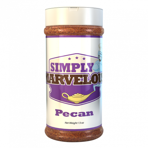 Simply Marvelous BBQ Rub Pecan