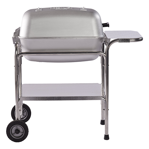 PK Charcoal Grill and Smoker - Classic Silver