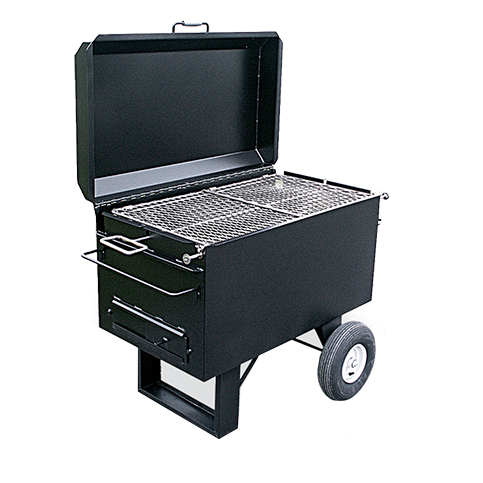 Meadow Creek BBQ42 Charcoal Grill + Chicken Flipper