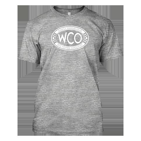 West Coast Offense Gray BBQ T-shirt