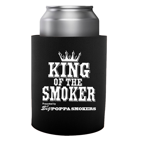 King of the Smoker BBQ Koozie