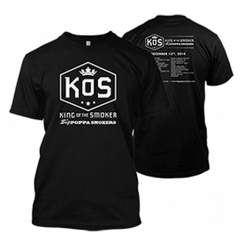 King of the Smoker 2014 T-Shirt