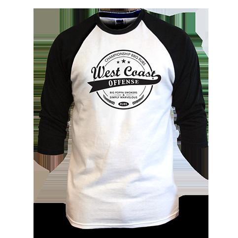 West Coast Offense Baseball T-Shirt