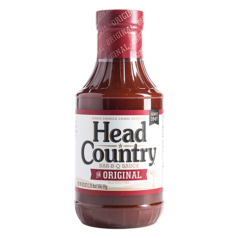 Head County Original BBQ Sauce 20oz