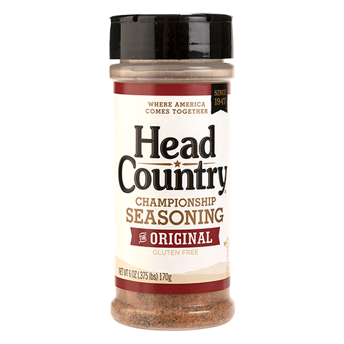 Head Country Championship BBQ Seasoning - 6oz