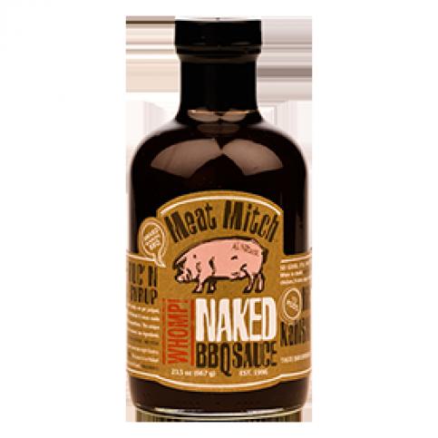 Meat Mitch Whomp! Naked BBQ Sauce - 21oz