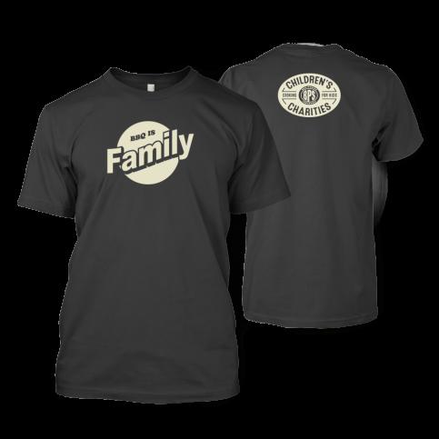 BBQ is Family Dark Gray T-shirt