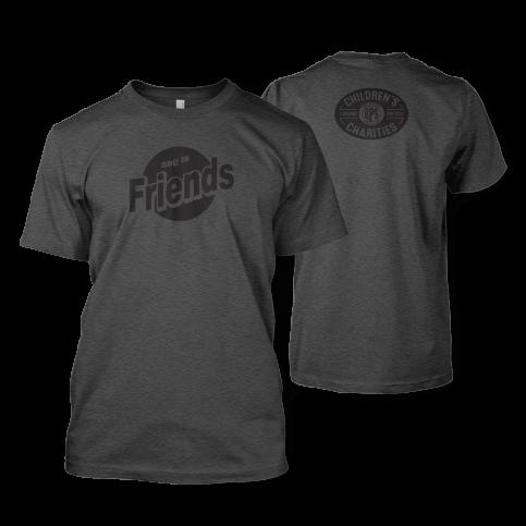 BBQ is Friends Deep Heather T-shirt