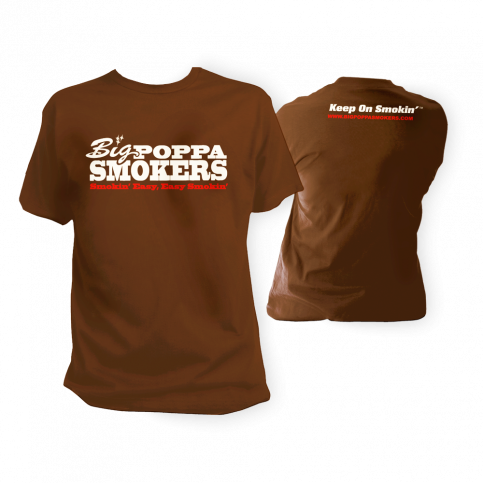 Big Poppa Smokers Brown T-Shirt