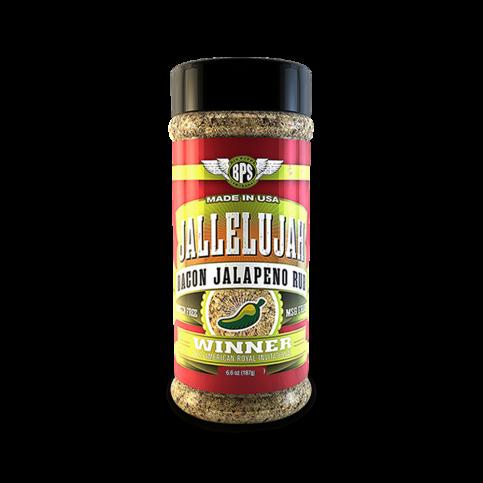Jallelujah Jalapeno Bacon Rub - 6.6oz