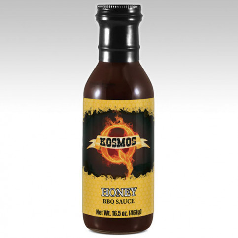 Kosmos Q Honey BBQ Sauce - 16.5oz