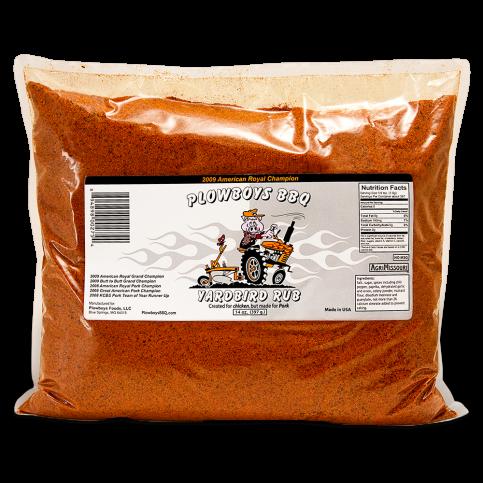 Plowboys Yardbird Rub - 5lb Bag