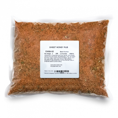 Sweet Money BBQ Rub - 5lb Bag