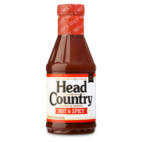 Head Country Hot BBQ Sauce 20oz