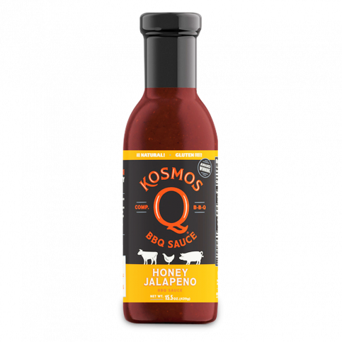 Kosmos Q Honey BBQ Sauce - 16.5oz