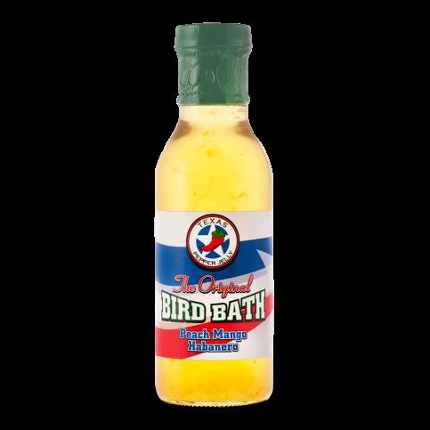 Texas Pepper Jelly Peach Mango Habanero Bird Bath - 12oz