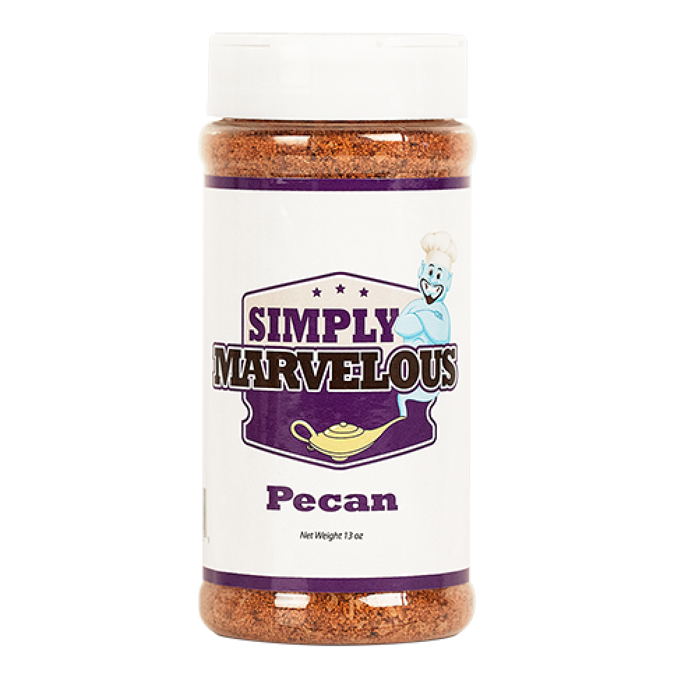 Simply Marvelous Pecan BBQ Rub