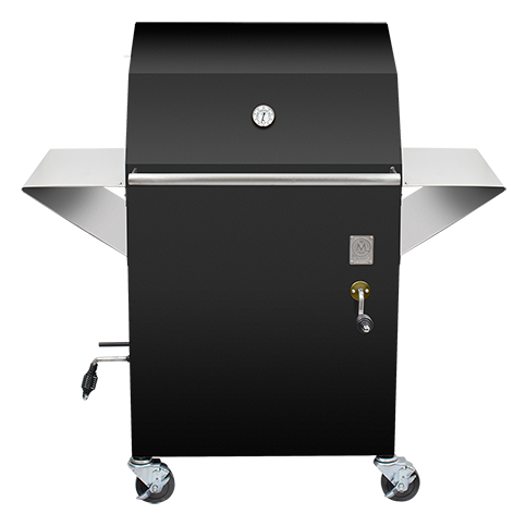 MGrill M1 Charcoal Grill & Wood Smoker