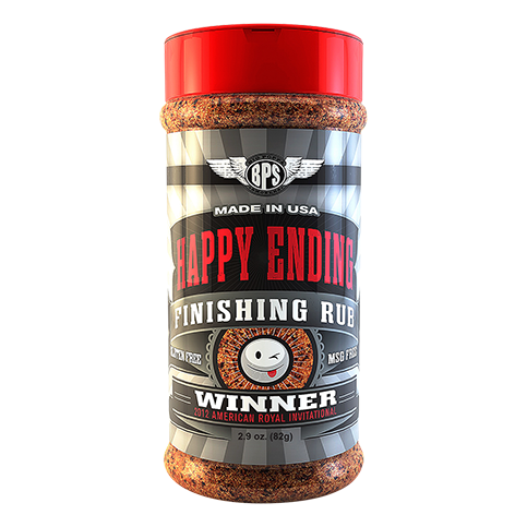 Happy Ending BBQ Finishing Rub