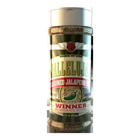 Jallelujah Seasoned Jalapeno Salt