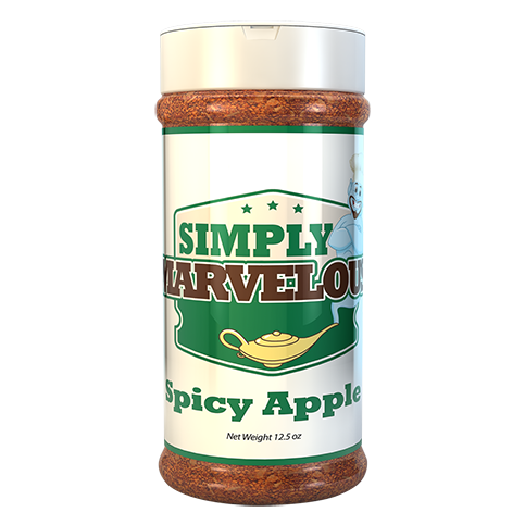 Simply Marvelous BBQ Rub Spicy Apple