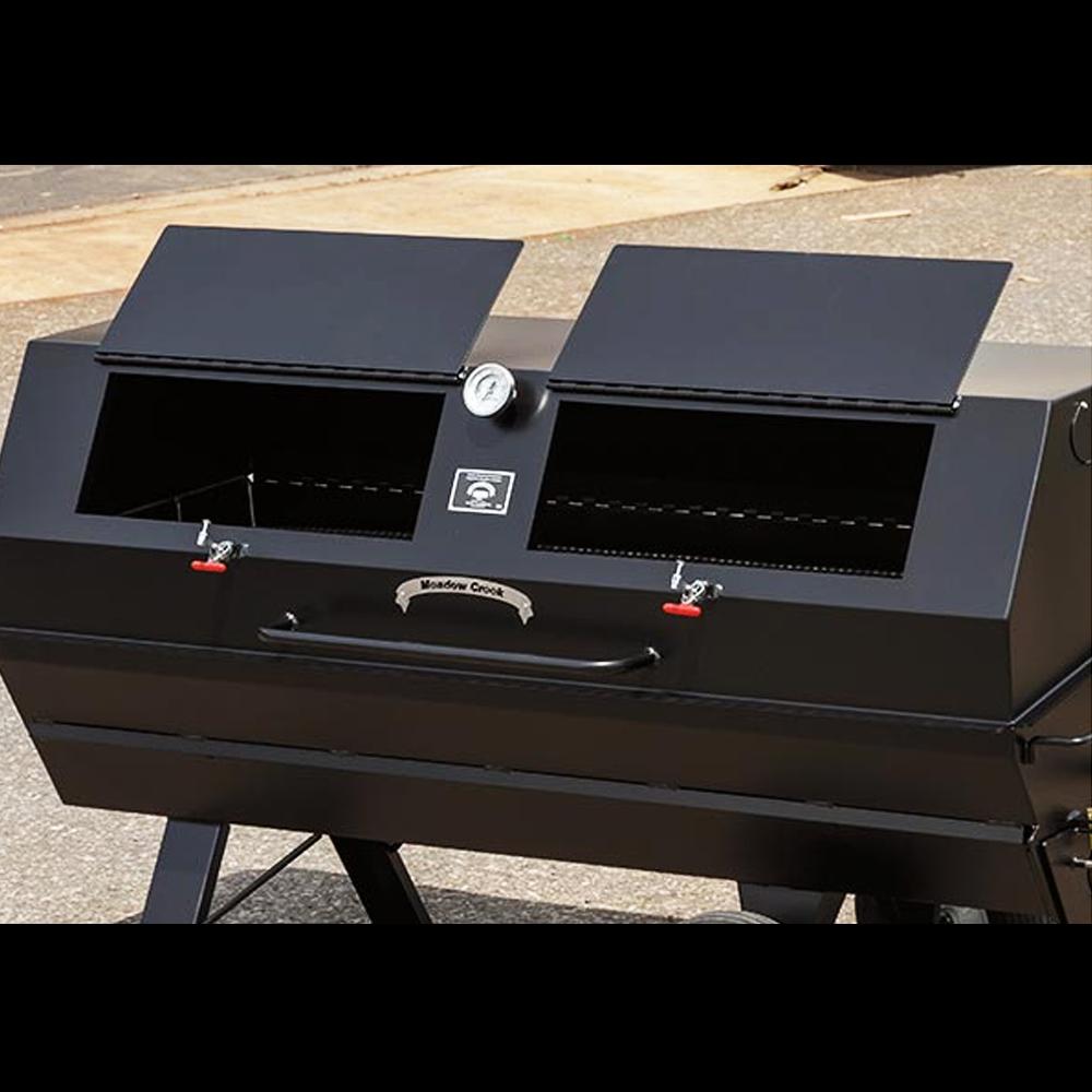 Meadow Creek PR72 | Pig Roaster | BBQ Smoker | Big Poppa Smokers