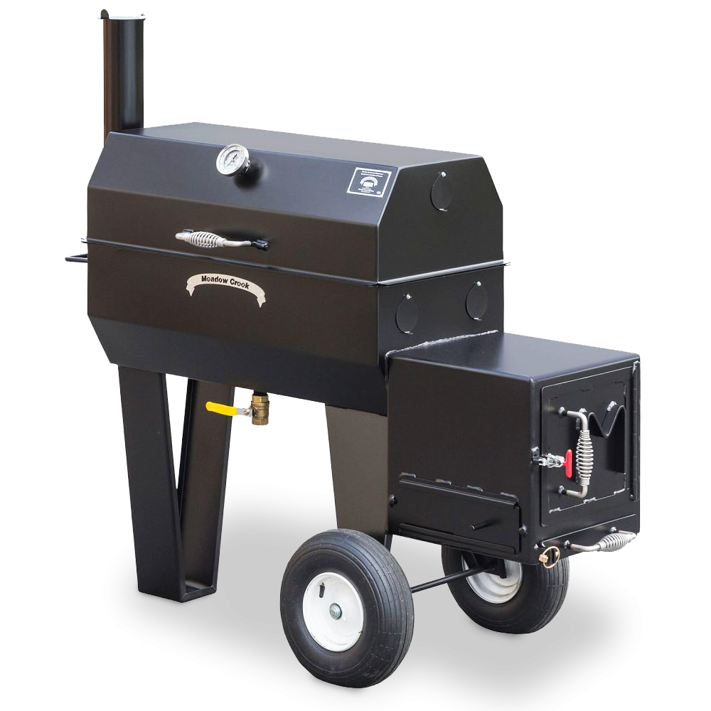 Meadow Creek SQ36 Offset Smoker | BBQ Grill