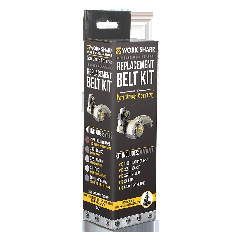 work sharp ken onion knife sharpener assorted belt kit