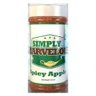 Simply Marvelous BBQ Rub Spicy Apple - 12.5oz