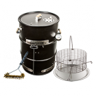Big Poppa's Enhanced Drum Smoker Kit