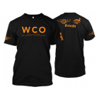 West Coast Offense Black & Orange BBQ T-shirt