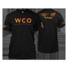 West Coast Offense Black & Orange BBQ T-shirt