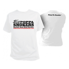 Big Poppa Smokers White T-Shirt
