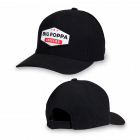 Big Poppa Smokers Black Vintage Patch Hat - Flexfit