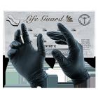 LifeGuard Food Gloves - BLACK (5 mil)