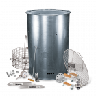 BPS Pre-Drilled Carbon Drum Smoker Kit