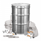 BPS SS Drum Smoker Kit