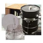 Big Poppa's All-in Drum Smoker Kit