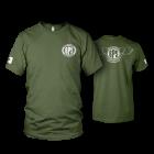 Big Poppa Smokers Green Mobile Command T-Shirt