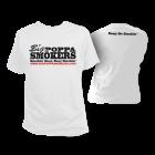 Big Poppa Smokers White T-Shirt