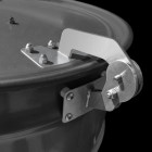 Unknown BBQ Drum Smoker Lid Hinge